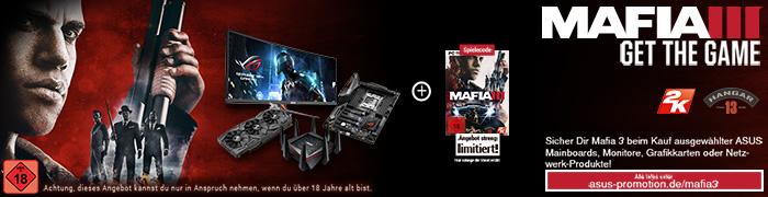 ASUS Mafia 3 Aktion